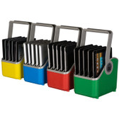 PC Locs 5 Slot Small Baskets for iPads (compatible with Carrier 30/40 Cart & IQ range) Set of 4