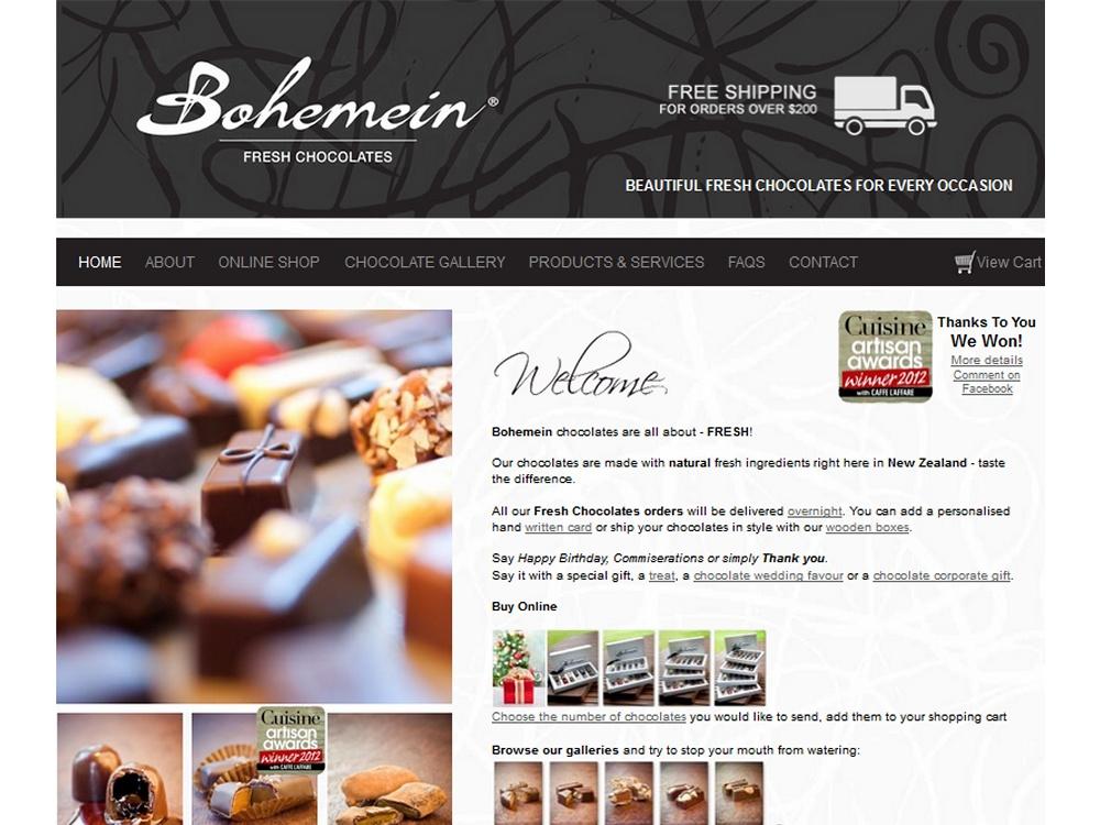 Bohemein eCommerce Development
