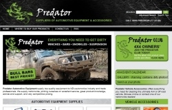 Predator Shopping Cart