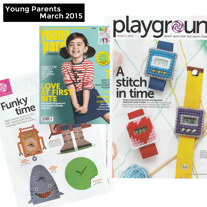 PriviKids featured in Young Parents magazine (March 2015)