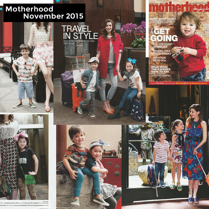 PriviKids featured in Motherhood magazine (November 2015)