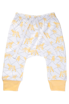 Sapling Galaxy Bear Yellow Pants