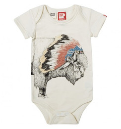 Rock Your Baby Tukota Bison Bodysuit