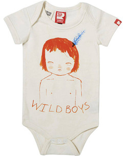 Rock Your Baby Wild Boys Bodysuit