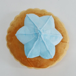Gem Biscuit Cushion Blue