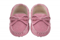 Oscar's For Kids Dusk Pink Loafers