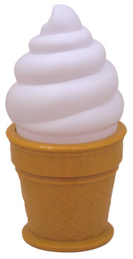 Ice cream Light White