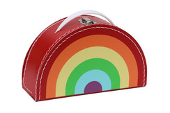 Rainbow Bright Suit Case
