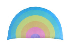 Rainbow Pastel Pillow
