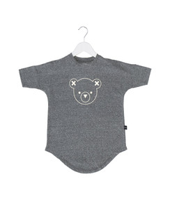 Huxbaby Hux Bear Outline Smock Dress