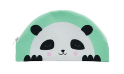 Pencil Case Panda (Mint or Pink)