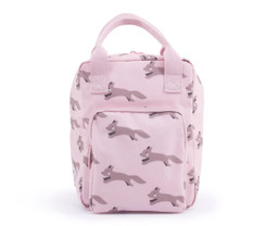Backpack Pink Foxes