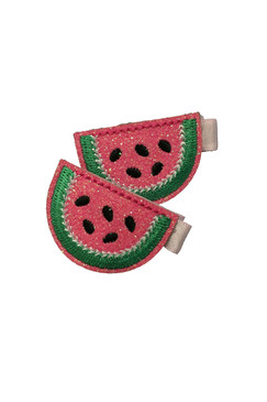 Watermelon Hair Clips (2 pieces)