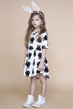 Huxbaby Hux Bunny Swirl Dress