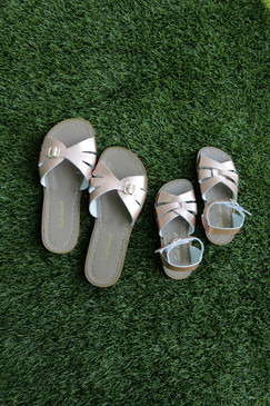 Saltwater Sandals Slide Rose Gold (Adult) - Preorder