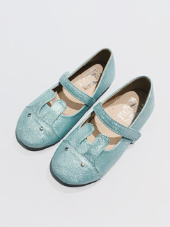 Aqua Bunny Shoes