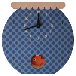 Fish Bowl Pendulum Clock