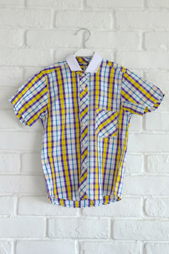 Violet Yellow Shirt