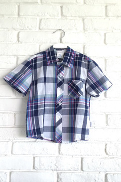 Violet Checkered Shirt