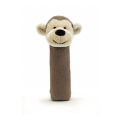 Bashful Monkey Squeaker Toy