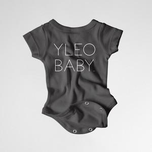 YLEO BABY Onesie - Black