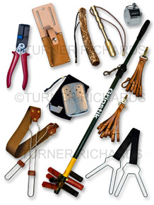 Gamekeeping accessories composite image