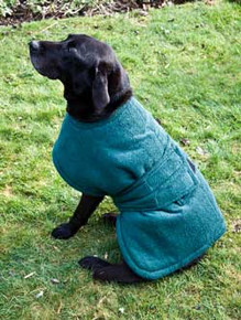 Dog Coats, towelling