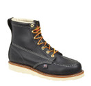 "Thorogood 814-6201 American Heritage 6"" Black Moc Non-Safety"
