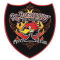 Mr Horsepower Speed Team Metal Sign
