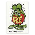 Rat Fink Sticker - Large - Green