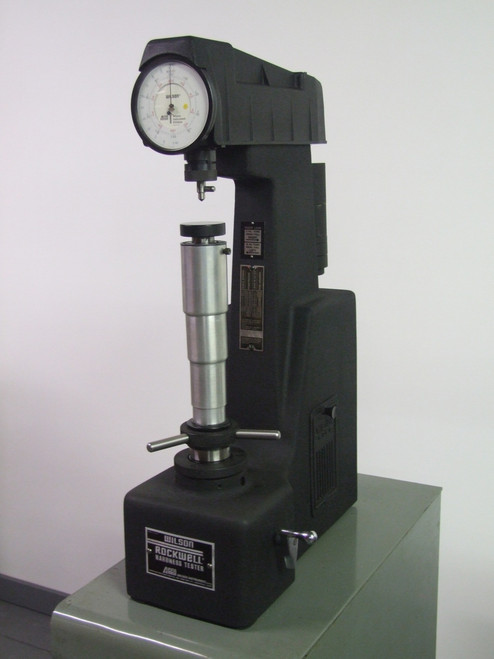 how to use wilson hardness tester