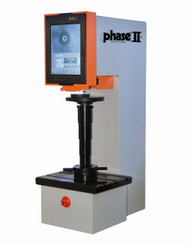 Phase II 900-357 Brinell Hardness Tester with Load Cell and Direct Touch Screen Controls. Brystar Metrology Tools.