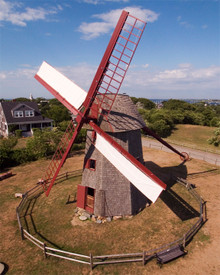 Windmill on Nantucket Island