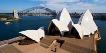 Sydney Opera House and Harbor Bridge