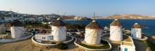 Mykonos Windmills, Greece