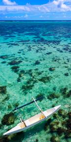 Outrigger Canoe - Moorea, French Polynesia