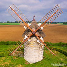 Windmill - Normandy, France
