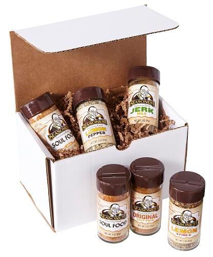 Seasonest 6 Pack Spice Blend Set