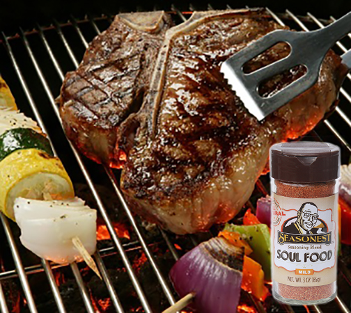 Seasonest Soul Food Mild-Juicy Porterhouse Steak