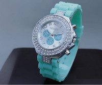Crystal Chronograph Watch