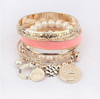 Fashion Pearl Multilayer Bracelet