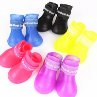"""Pet Friends"" Waterproof Dog Boots Shoes"