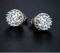 Angel Beauty Crystal Stud Earrings