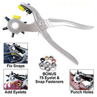 5 in 1 Professional Hole Punch Tool for Belts, Shoes, Shirts