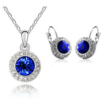 Katie Swarovski ELements Crystal Jewelry Set
