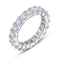 Swarovski Elements Eternity Ring