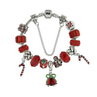 Christmas Charm Bracelet Jingle Bells
