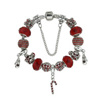 Christmas Charm Bracelet Magic Wand