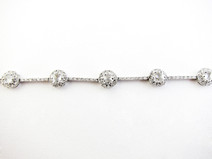 14KW Diamond Bracelet