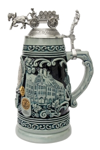Authentic cobalt stein for sale